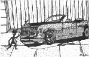 Nadia_Russ_Royce_Convertible_neopoprelism_ink_drawing.jpg
